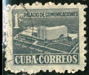 CUBA #RA16, USED - 1952 - CUBA861DTS6