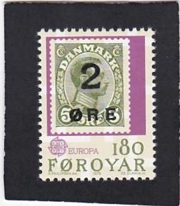 Faroe  Islands   #   44  MNH