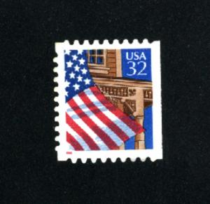 USA # 2921  2 used 1995-97 PD .08