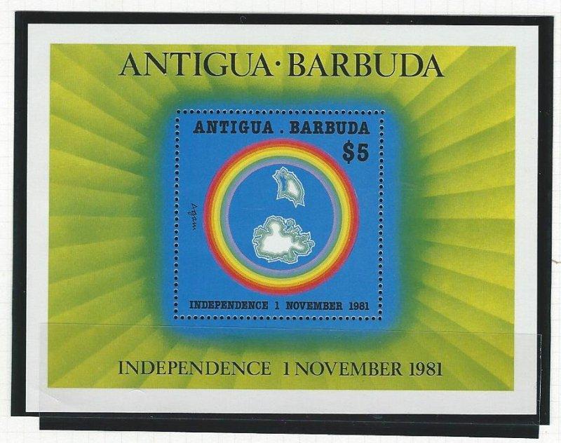 Antigua souvenir sheet  mnh  SC  637