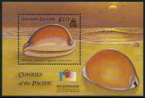 Solomon Is #944 MNH S/Sheet - Cowrie Shells
