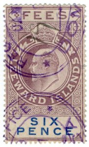 (I.B) Leeward Islands Revenue : Fees 6d