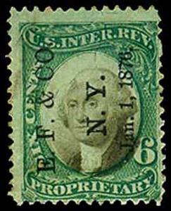 U.S. REV. PROPRIETARY RB6a  Used (ID # 34351)