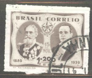 Brazil Scott 485 Used stamp