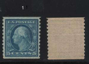 Scott 496 1919 5c Washington Coil