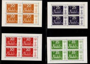 Sweden 1045-48 1974 Stockholmia 74 stamp sheets mint NH