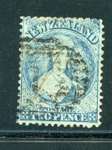 New Zealand  #17 used  Cat $225- Lakeshore Philatelics
