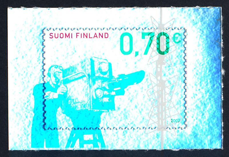 Finland 1276 MNH Television Broadcasting