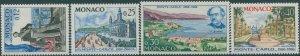 Monaco 1966 SG847-850 Monte Carlo MNH