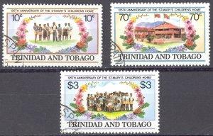 Trinidad & Tobago Sc# 416-418 SG# 666/8 Used 1984 St. Mary's Anniv.