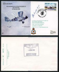B17c 70th Ann of the Formation of No.11 Squadron Signed H. Constantine (Z)