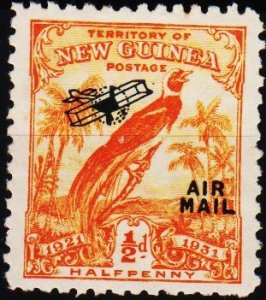 Papua New Guinea. 1931 1/2d S.G.163 UnUsed/No Gum
