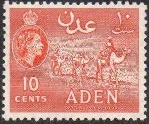 Aden 195510c vermilion MH