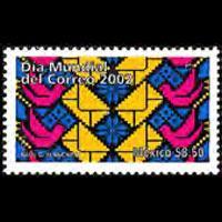 MEXICO 2002 - Scott# 2295 World Post Day Set of 1 NH