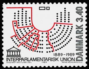Denmark 874 MNH Interparliamentary Union