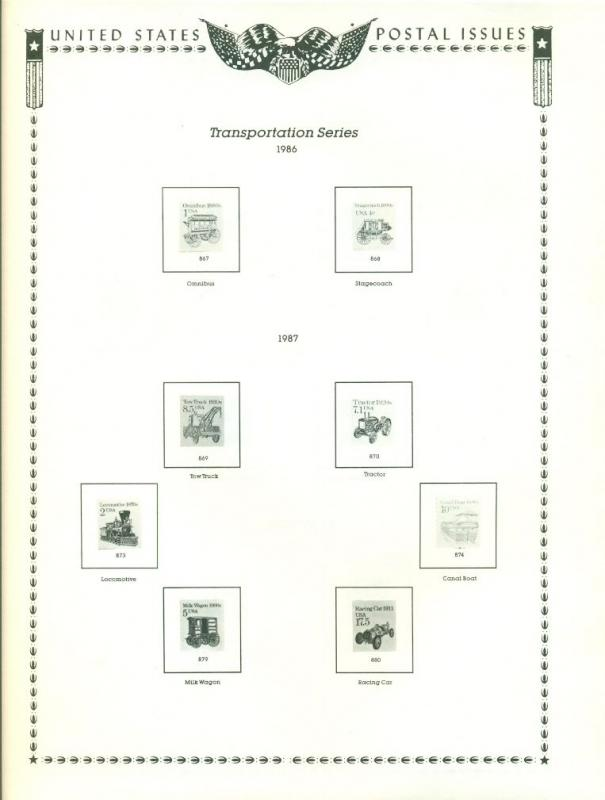 MINKUS PUBLICATIONS 1987 SUPPLEMENT NO. 37