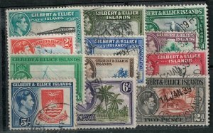 Gilbert and Ellice 1939 SC 40-51 Used Set