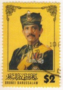 Brunei #513, $2 sultan used