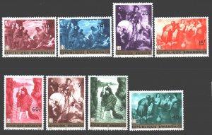 Rwanda. 1967. 218-25. Paintings painting. MNH.