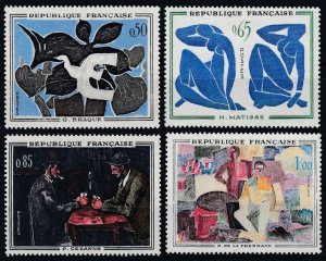 1961 France 1372-75 Painting 11,00 €