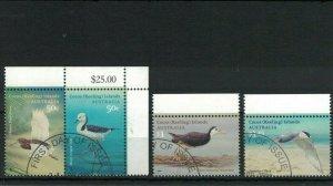 CK130) Cocos Keeling Islands 2008 Visiting Birds CTO/Used
