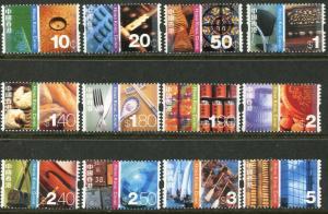 HONG KONG Sc#998-1009 2002 Defins to $5 Part Set OG Mint NH