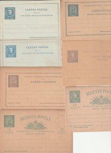 Angra x 6 & 1 Horta unused cards