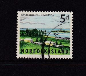 1964 Norfolk Island Scenes 5d Used SG51