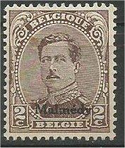 GERMAN, 1920, MH 2c, MALMEDY ISSUE, Scott 1N43