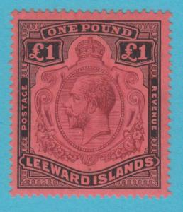 LEEWARD ISLANDS 83 MINT LIGHTLY HINGED OG * NO FAULTS EXTRA FINE !