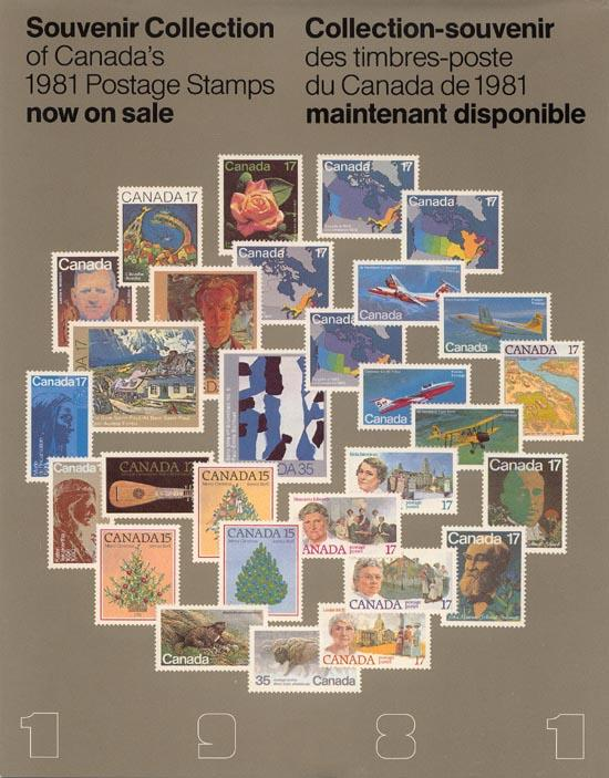Annual Souvenir Collection The Postage Stamps of Canada 1981 USC AC#24 VF-NH