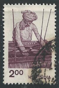 India #848 2r Weaver