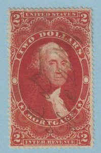 UNITED STATES R82a REVENUE STAMP  USED - NO FAULTS VERY FINE!