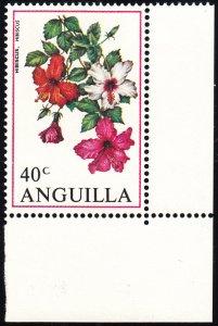Anguilla 1970 MNH Sc #89 40c Hibiscus Flowers