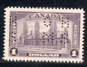 Canada #O245 and O245i Perf 4 Holes  VF NH - C$640.00 - Rare
