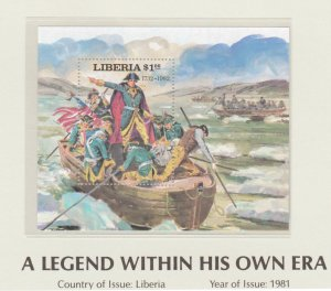 Liberia 1981 Napoleon A Legend Within His Own Era SS MNH