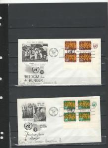 UN FDC's, airmails, airmail postcards,and more mints **