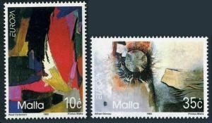 Malta 813-814,MNH.Michel 904-905. EUROPE CEPT-1993:Contemporary Art.
