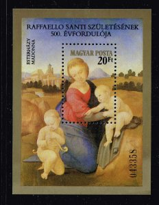 HUNGARY STAMP 1983 The 500th Anniversary of the Birth of Raphael, 1483-1520 MNH