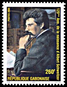 Gabon 986, MNH, 125th Anniversary Birth of Albert Schweitzer