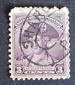 USA, 1932, (1732-1932), George Washington, SC #3c, (1971-Т)