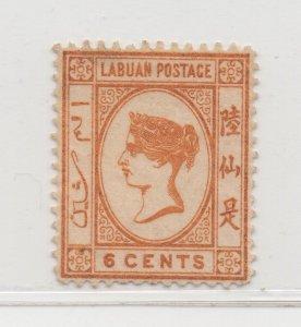 Malaya Labuan - 1880-82 - SG6a - 6c - no gum #669