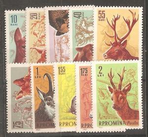 Romania SC 1425-34 MNH