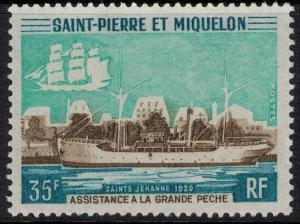 St. Pierre 1971 SC 408 Set H CV $45 - Ship