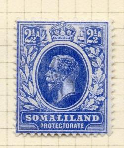 Somaliland Protectorate 1912 Early Issue Fine Mint Hinged 2.5a. 297817