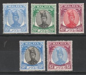 TRENGGANU 1949 SULTAN RANGE TO $1