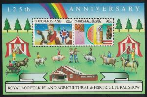 Norfolk Horses Cattle Sheep Pigs MS SG#MS373 SC#372a