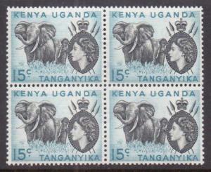 Kenya,Uganda,Tanz.  #106  MNH (4) (1959)  c.v. $4.00