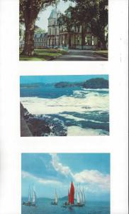 Canada .08 Postal Cards, 5 Dif. With Scenes From New Brunswick Island Mint