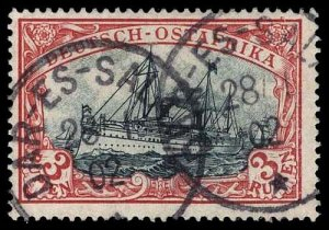GERMAN EAST AFRICA 21a  Used (ID # 96384)